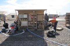 1500 ROWPU being set-up
