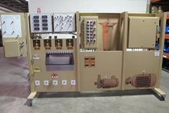 Simulator traing panel
